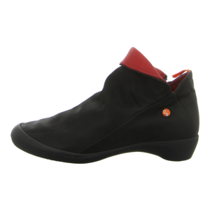 Stiefeletten - Softinos - Farah - black/red (black sole)