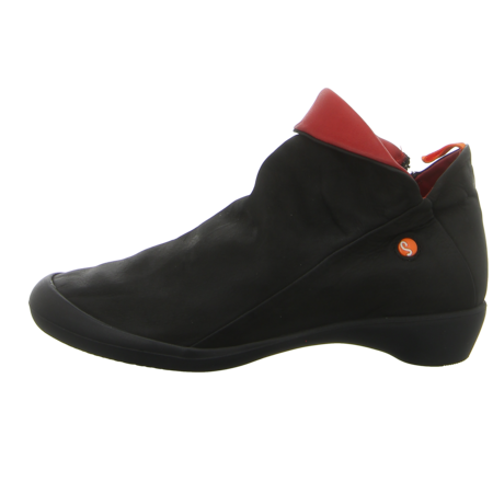 Stiefeletten - Softinos - Farah - black/red