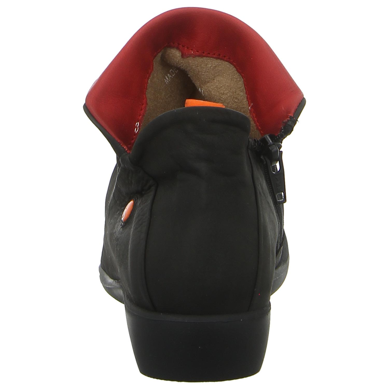 NEU SOFTINOS Stiefelette Ankle Boots P9000085563 FARAH black schwarz