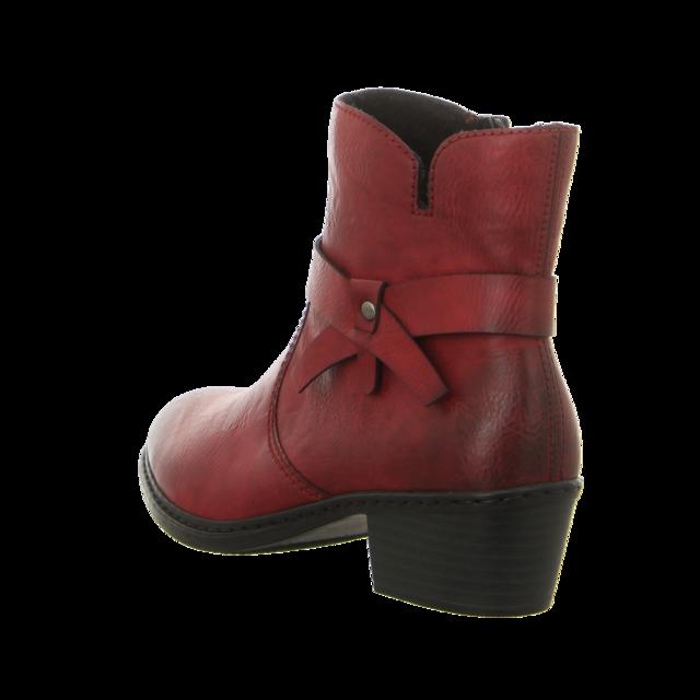 Rieker - 75553-35 - 75553-35 - rot - Stiefeletten
