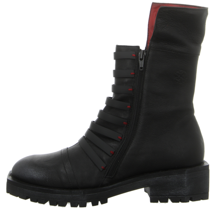 Stiefeletten - Papucei - Tucan - black red