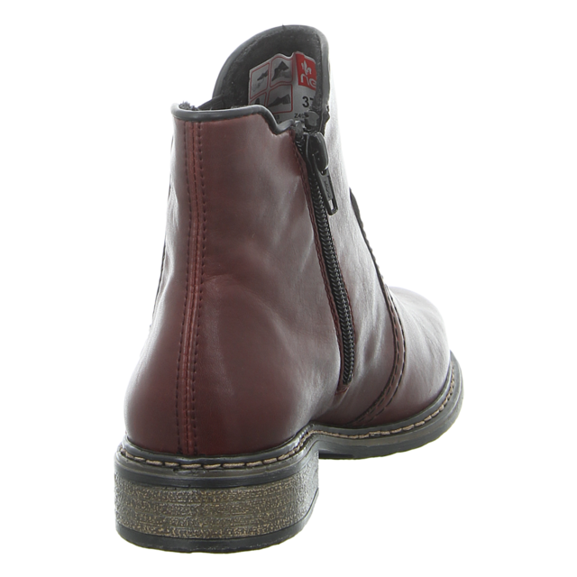 Rieker Damen Stiefelette in bordeaux | SALE Schuhfachmann angeS