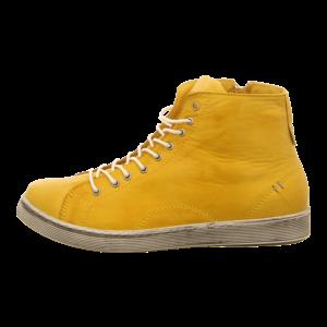 Sneaker - Andrea Conti - Da.-Schnürer - gelb