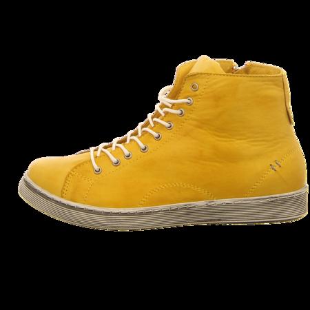 Sneaker - Andrea Conti - gelb