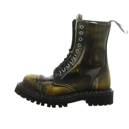 Stiefeletten - Steady's - black/yellow