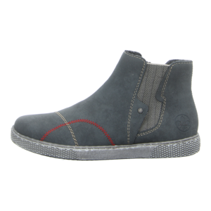 Stiefeletten - Rieker - jeans/leinen