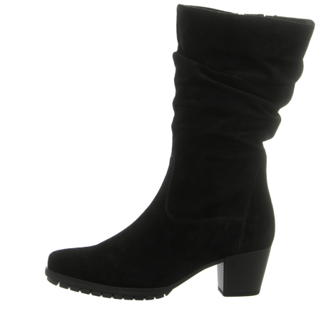 Stiefel - Gabor - schwarz (Flausch)