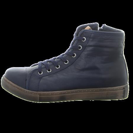 Sneaker - Andrea Conti - d.blau/brandy