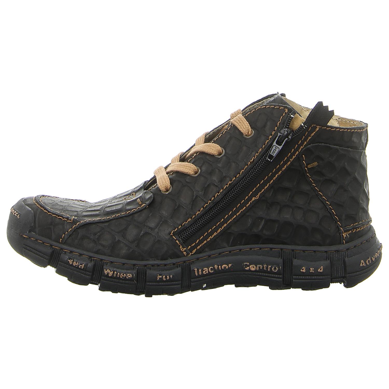Details zu ROVERS Schuhe Stiefelette 401 NEGRO (schwarz) NEU