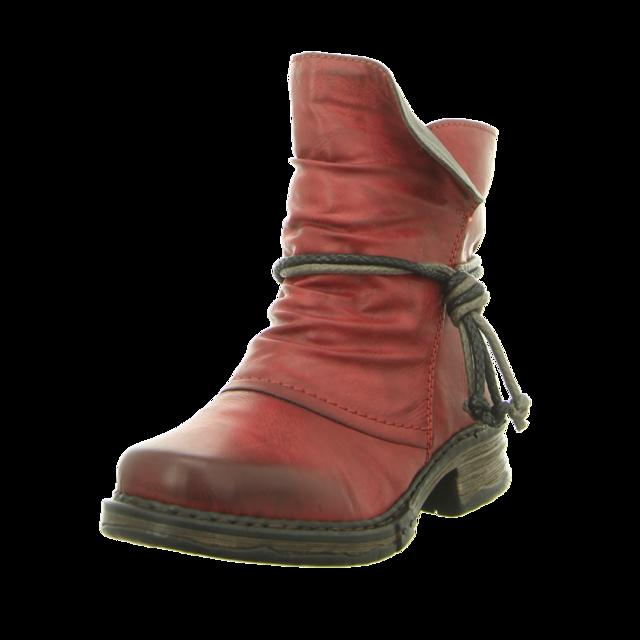 Rieker - Z9961-35 - Z9961-35 - rot - Stiefeletten