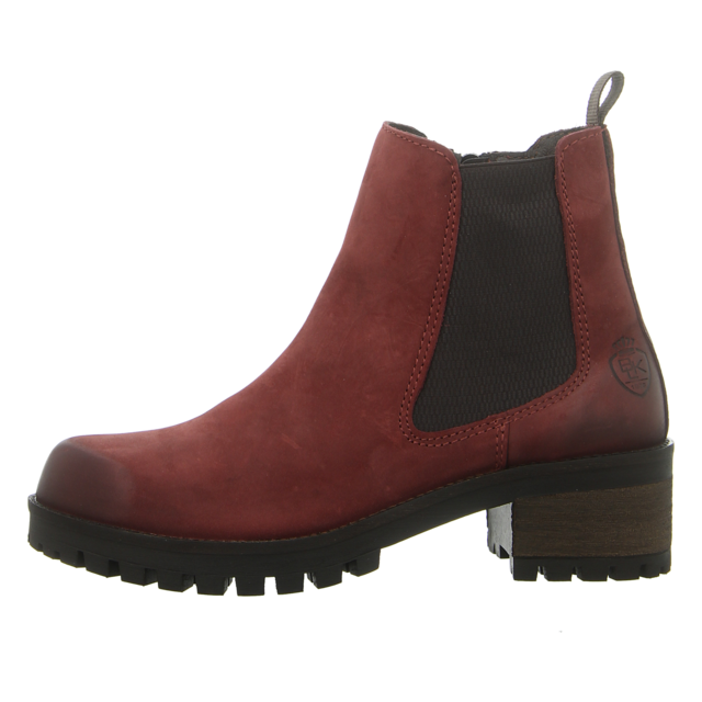 Black Damen Stiefelette in bordeaux | SALE Schuhfachmann