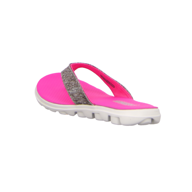 Skechers - 13631 GYHP - on-the-GO-Flow - gray/hot pink - Zehentrenner