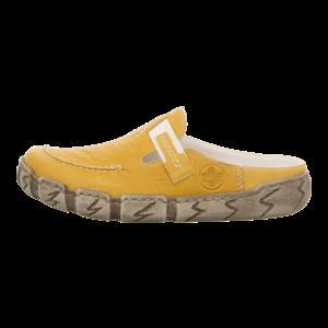 Pantoletten - Rieker - gelb