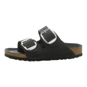 Pantoletten - Birkenstock - Arizona Big Buckle - black