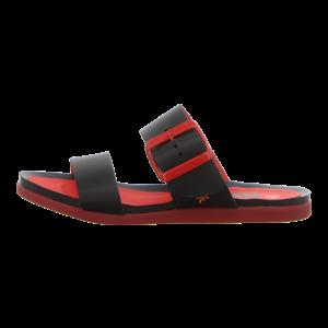 Pantoletten - Art - Larissa - black-red