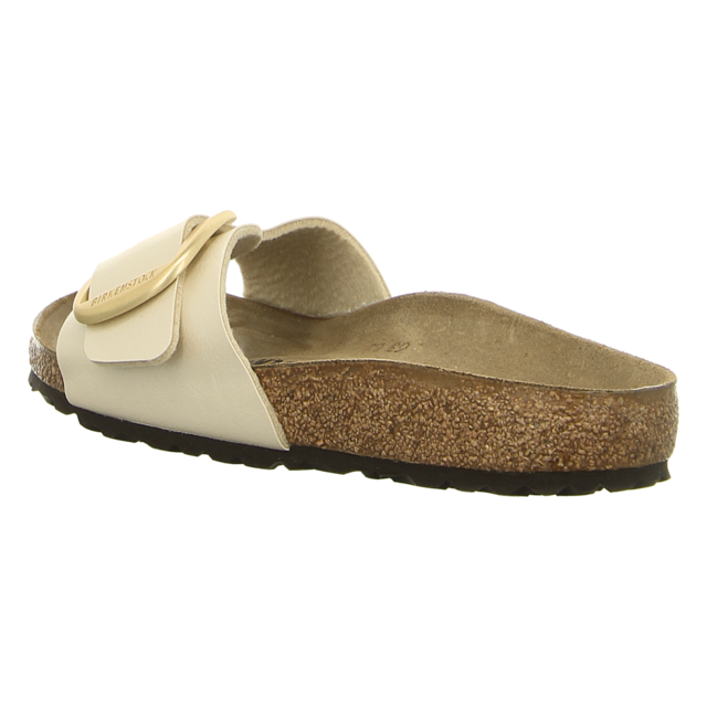 Birkenstock - 1015279 - Madrid Big Buckle - graceful pearl white - Pantoletten