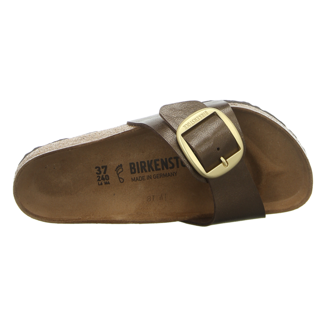 Birkenstock - 1015312 - Madrid Big Buckle - graceful toffee - Pantoletten