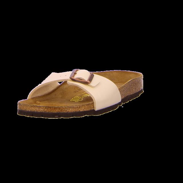 Birkenstock - 940153 - Madrid - graceful pearl white - Pantoletten