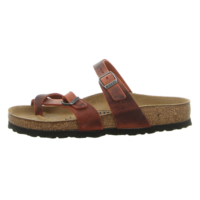 Birkenstock - 1015548 - Mayari - earth red - Zehentrenner