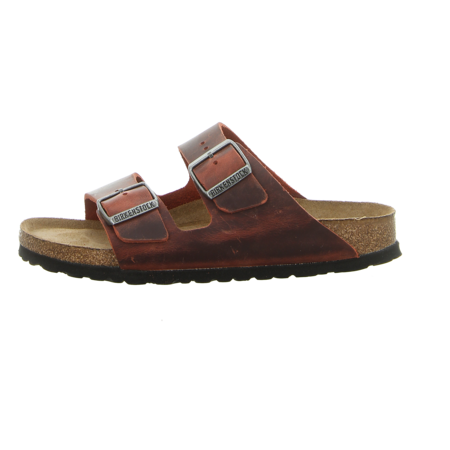 Pantoletten - Birkenstock - Arizona BS - earth red
