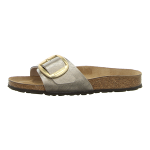 Pantoletten - Birkenstock - Madrid Big Buckle - graceful taupe