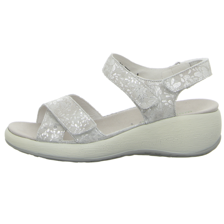 Sandaletten - Waldläufer - H-Tanja - silber