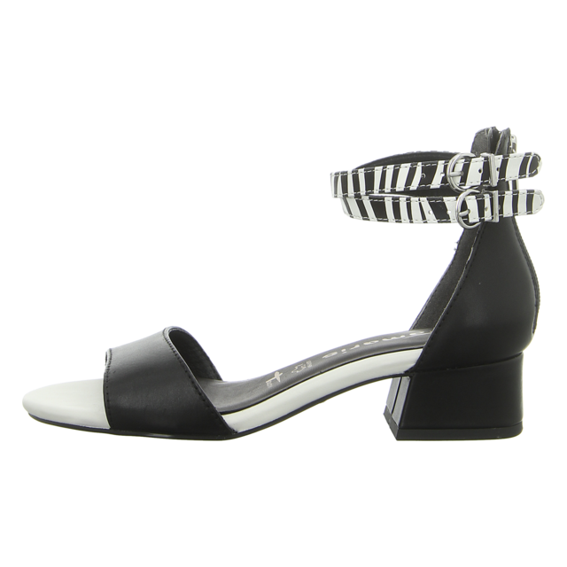 TAMARIS schwarze Wildleder Sandaletten Pumps Damen 36 UK 3,5