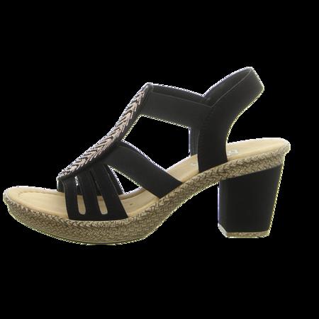 Sandaletten - Rieker - schwarz