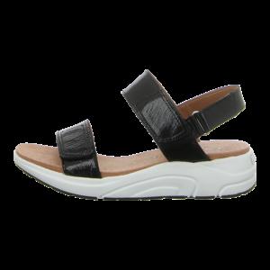 Sandaletten - Caprice - black naplak