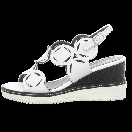 Sandaletten - Tamaris - white/black