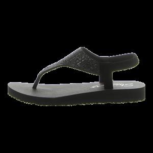 Zehentrenner - Skechers - Meditation- Rock Crown - black