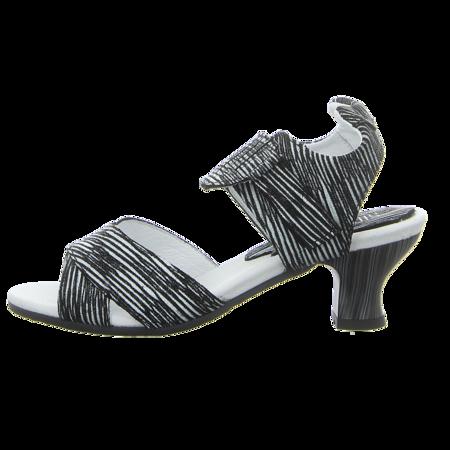 Sandaletten - Simen - schwarz/weiss