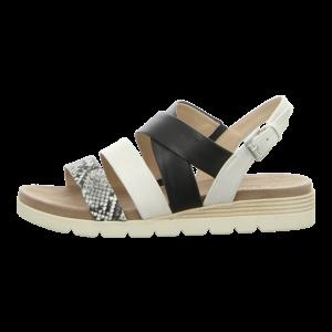 Sandaletten - Caprice - black/offwhite