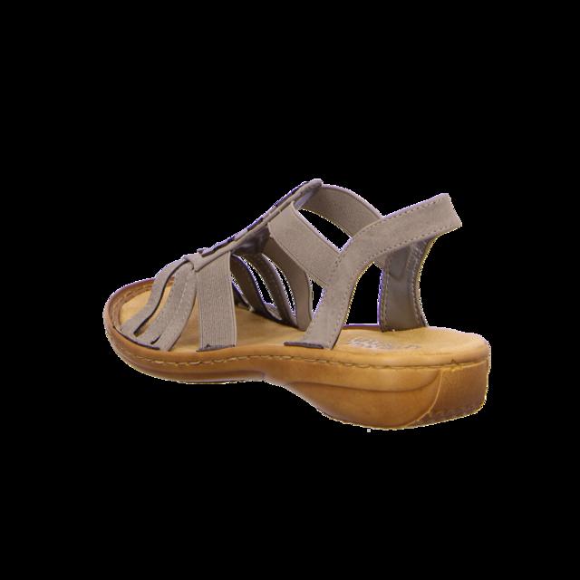 Rieker - 60800-42 - 60800-42 - grau - Sandaletten