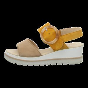Sandaletten - Gabor - caramel/mango