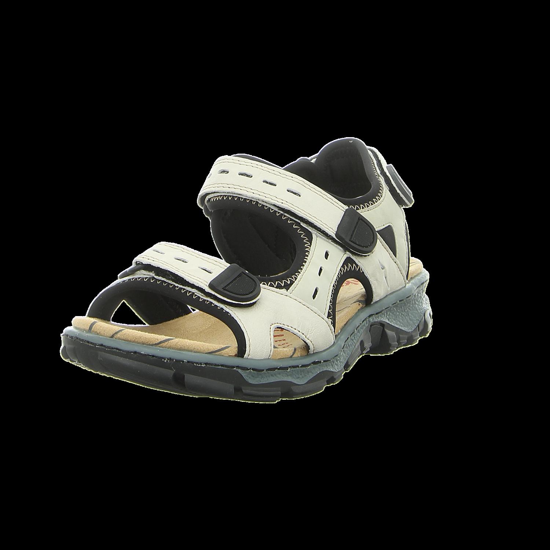 Rieker - 68872-60 - 68872-60 - beige kombi - Sandalen
