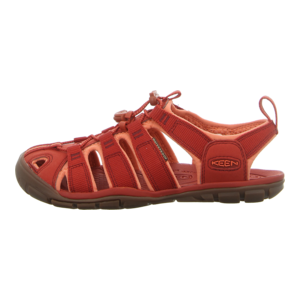Sandalen - Keen - Clearwater CNX - dark red/coral