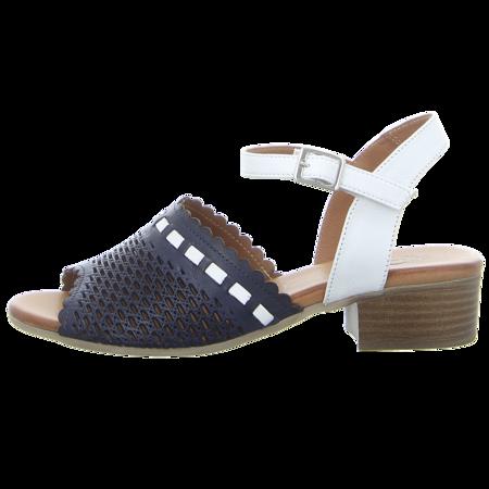 Sandaletten - Piazza - navy/weiß