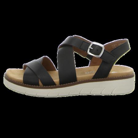 Sandaletten - Remonte - schwarz