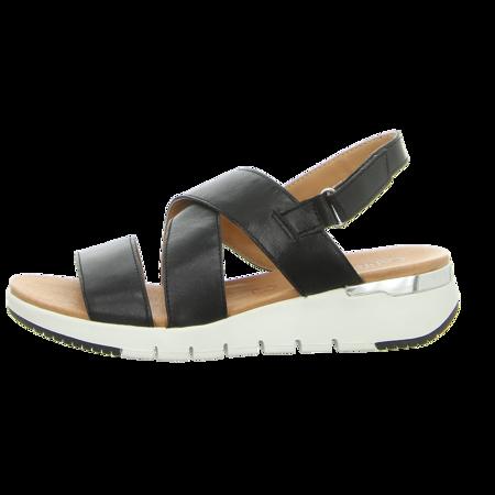 Sandaletten - Caprice - black metallic