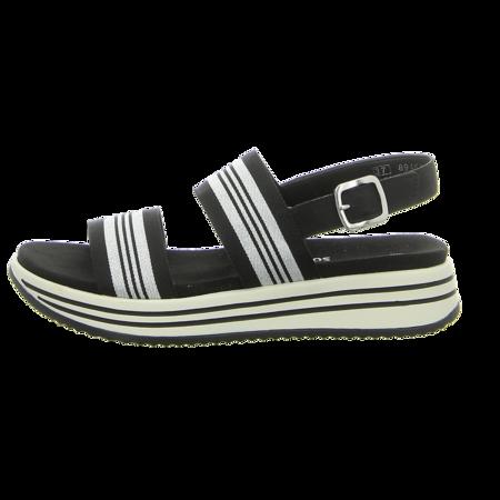 Sandalen - Remonte - schwarz kombi