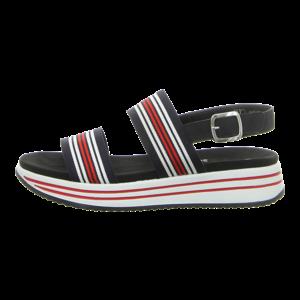 Sandaletten - Remonte - blau kombi