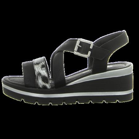 Sandaletten - Remonte - schwarz kombi