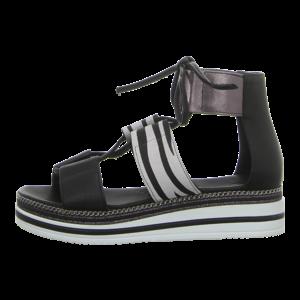 Sandaletten - MACA Kitzbühel - nero zebra