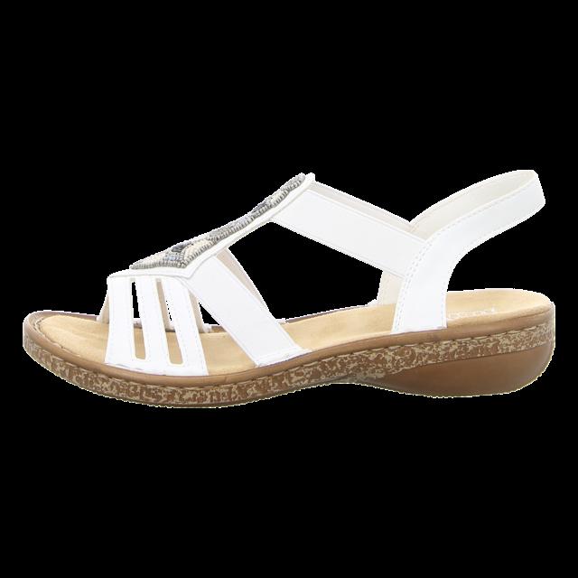 Rieker Damen Sandale in blau | SALE Schuhfachmann