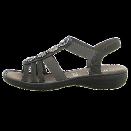 Sandaletten - Rieker - grau