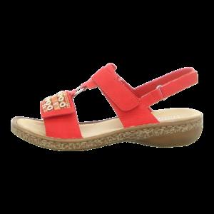 Sandaletten - Rieker - rot