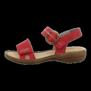 Sandalen - Rieker - rot