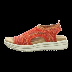 Sandalen - Remonte - rot kombi