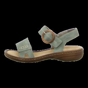 Sandalen - Rieker - grün